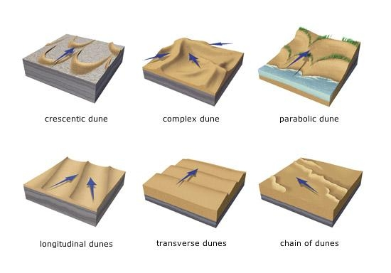 Exploration Amp Production Geology View Image Dune Types